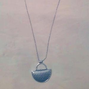 Lucky Brand Silver Pendant Necklace